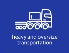 Heavy and oversize transportation - photogallery