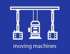 Moving machines - photogallery